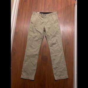 Volcom men's size 30 tan pants